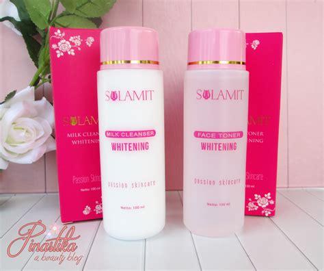 Toner Dan Milk Cleanser Wardah pinastika sulamit series sulamit