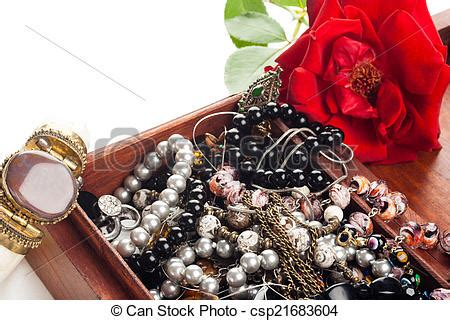 jewelry  box bunch   color woman jewelry