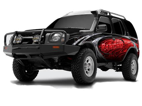 nissan xterra lift kit 2 5 quot lift kit nissan xterra 2000 2004 by rancho
