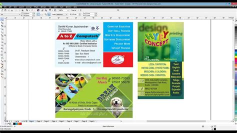 tutorial corel draw x6 avançado corel draw x6 tutorial in tamil introduction youtube