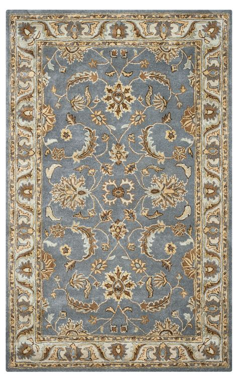 grey traditional rug rizzy rugs light gray traditional tufted area rug volare vo1427