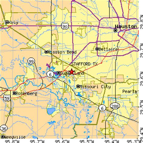stafford texas map stafford texas tx population data races housing economy