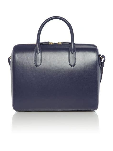Bag Tote Navy radley bloomsbury navy medium tote bag in blue navy lyst