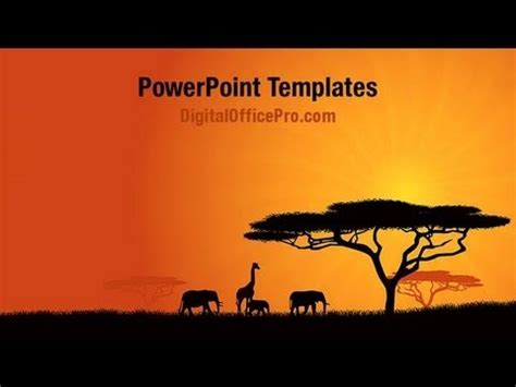 africa powerpoint template backgrounds powerpoint www pixshark images
