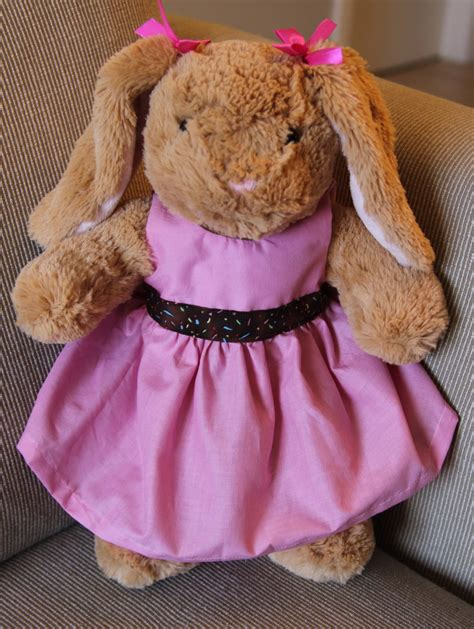 clothes pattern for build a bear cute tutes by jaci hayden build a bear dress tutorial