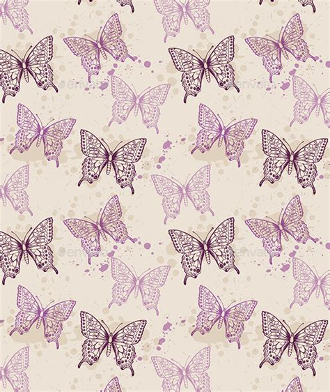 violet pattern for photoshop seamless pattern with violet butterflies graphicriver