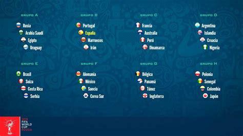 grupo brasil mundial 2018 mundial 2018 rusia sorteo mundial 2018 as 237 queda la