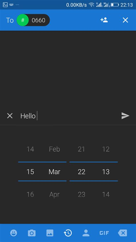 android text how to schedule text messages on android