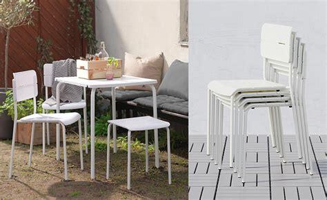 mesas y sillas de terraza ikea las mejores sillas de terraza ikea para un verano perfecto