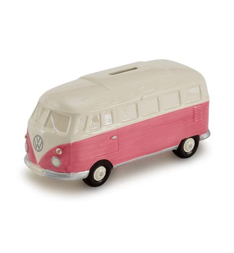 pink volkswagen van vw cer van money box pink
