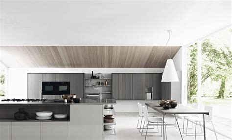 Modern Kitchen Designs 2012 Gloss Ash White Modern Kitchen Interior Design Ideas