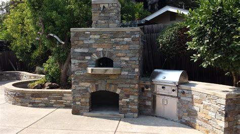 outdoor kitchen designs with pizza oven custom pizza oven outdoor kitchen design sacramento ca