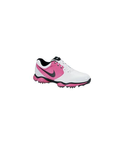 nike mens lunar ii golf shoes white pink 2013