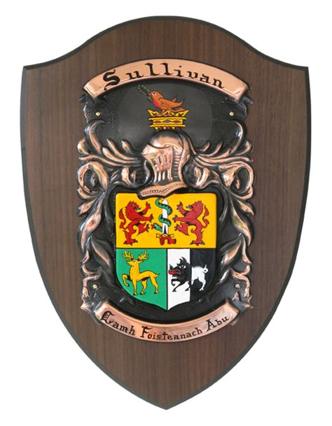 Emblem Fino By Muray Shop personalized single coat of arms shield