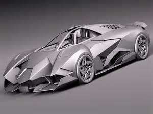 2013 Lamborghini Egoista Concept Lamborghini Egoista Concept 2013 3d Model Max Obj 3ds