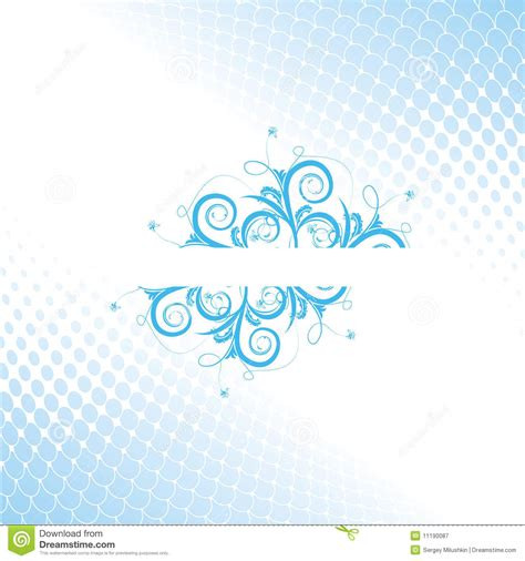aqua designs abstract flower aqua design royalty free stock photography