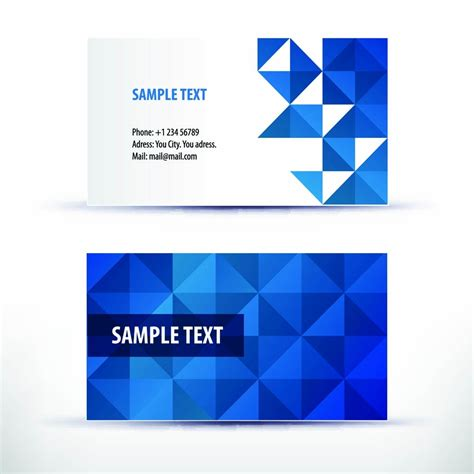 microsoft powerpoint business card template microsoft business card template free business card idea