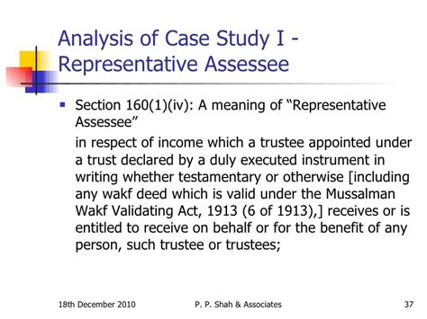 section 10 37 of income tax act mussalman wakf validating act 1913