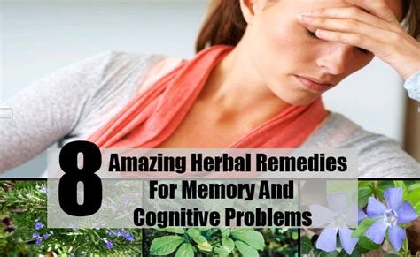 8 Amazing Home Remedies For 8 Amazing Herbal Remedies For Memory And Cognitive