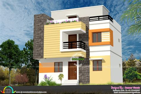 2 house designs 1200 sq ft low budget g 2 house design kerala home