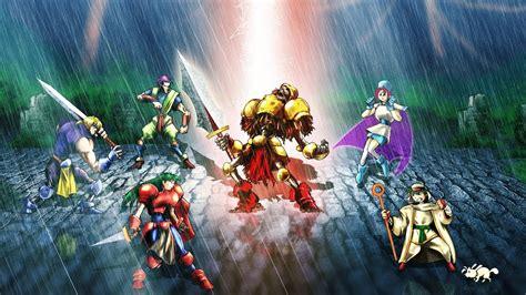 guardian heroes sega saturn intro opening full hd