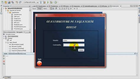 java swing login screen tutorial programaci 243 n pantalla de acceso login en java