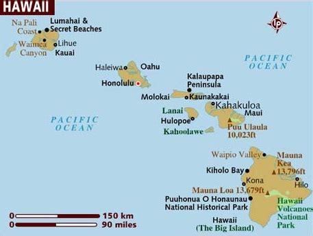 maps of hawaii hawaje girlonline eu