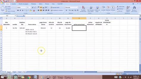 nomina en excel 2013 534x355 jpg formato nomina semanal excel etame mibawa co
