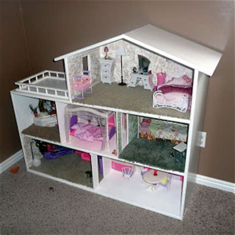 how much is a barbie doll house mike s wood toys by design book case style doll house