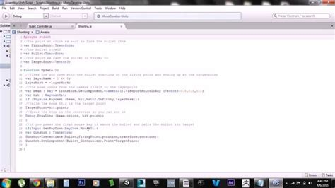 tutorial unity javascript unity tutorial raycast shooting free script included youtube