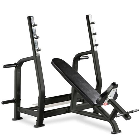 bodymax weight bench bodymax black be285 commercial olympic incline bench