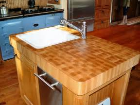 kitchen island with butcher block countertop rachael edwards
