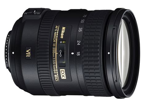 Nikon 18 200 Vr Ii Nikon Af S Dx 18 200mm F 3 5 5 6 G Ed Vr Ii Specifications And Opinions Juzaphoto