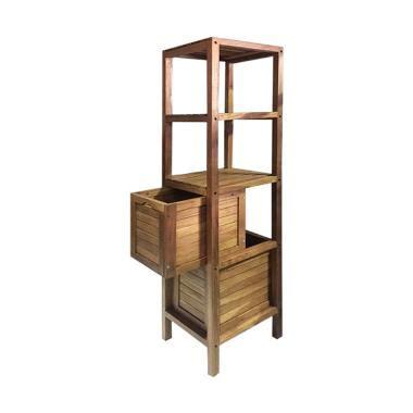 Teh Bandulan Isi 24 X 180 jual adelaides kayu jati rak kabinet serbaguna 180 x 40 x 40 cm harga kualitas