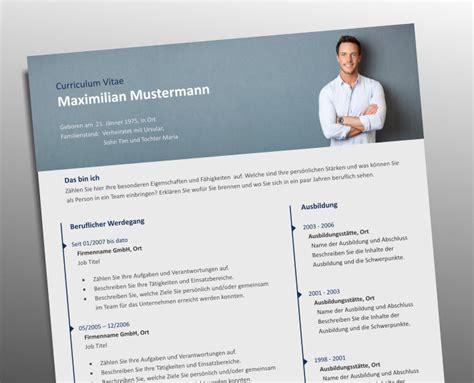 Lebenslauf Muster Grafiker Profi Lebenslauf Vorlage Mit Foto Header Top Bewerbung