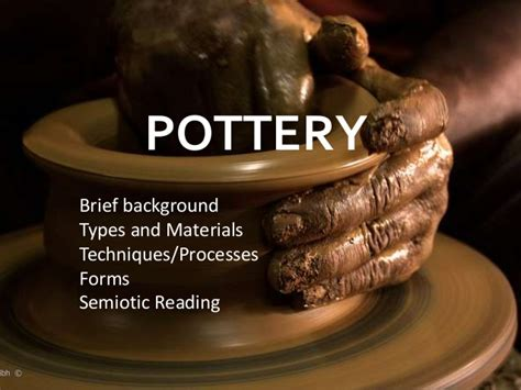 Vases Powerpoint by Pottery