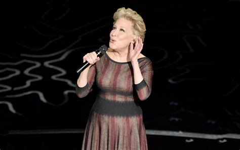 bette midler for all we academy awards 2014 what did bette midler sing for