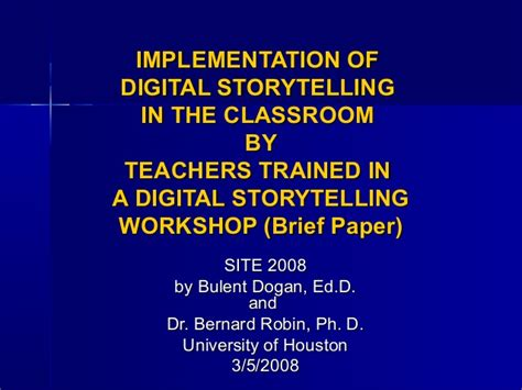 storytelling in the of the digital narrative studies in gaming books implementing digital storytelling in the classroom ppt