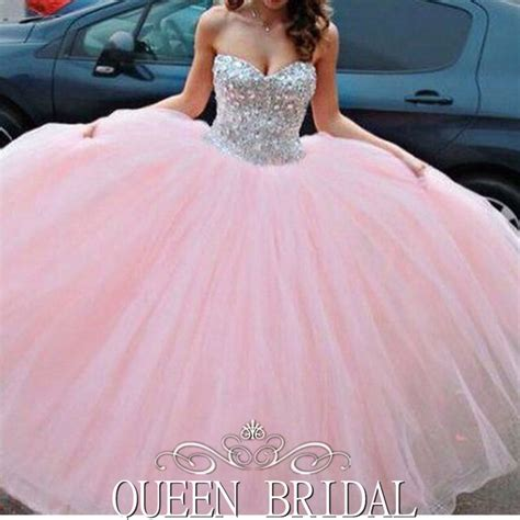 robe de mariee princesse rose