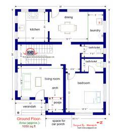 3 Bedroom House Plans Indian Style Floor Plan And Elevation Of 1925 Sq Feet Villa House