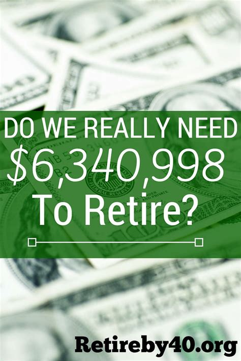 how much income do you need to retire comfortably do we really need 6 340 998 to retire