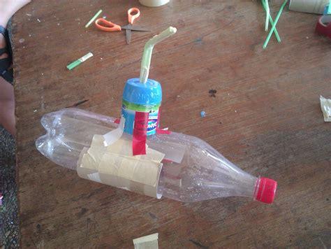 Hacer Submarino Con Material Reciclado | manualidades escolares submarino reciclaje