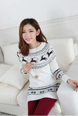 White Flag Knitted Sweater Size Sm 15527 free ship sweet print t shirt on luulla