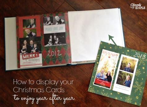 how to display christmas cards how to display your christmas cards to enjoy year after