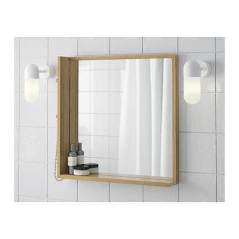 bamboo bathroom mirror r 197 grund mirror bamboo 53x50 cm ikea