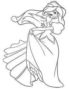 Disney Little Mermaid Coloring Pages Print L