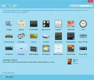 windows 8 gadgets pack softwares valley