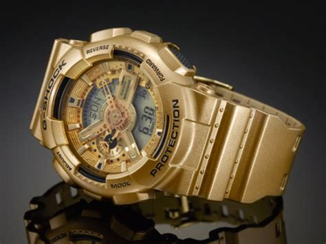 G Shock Time New Model Black Gold 1 casio g shock quot gold quot series freshness mag