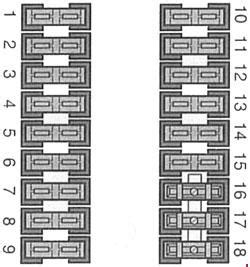 mercedes benz vito    fuse box diagram