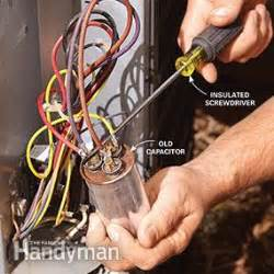 herm en capacitor diy air conditioning service repair family handyman